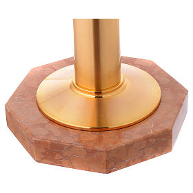 Baptismal Font gold plated with blue nickel decorations s5
