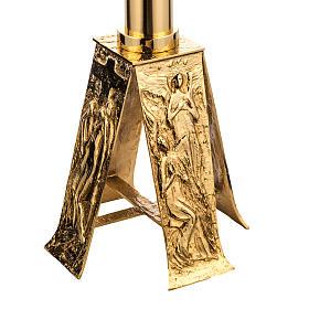 Baptisterio en latón fundido dorado s3