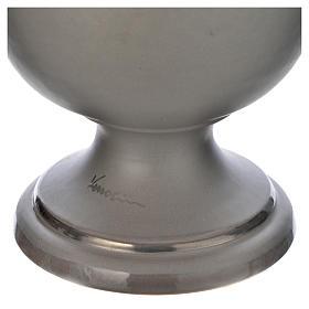 Urne funéraire en céramique gris clair s3