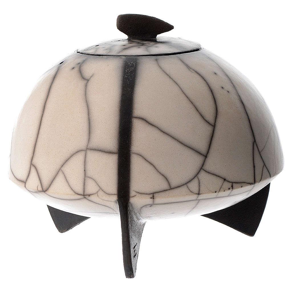 Cinerary urn, Naked Raku, Circle 1/10 3