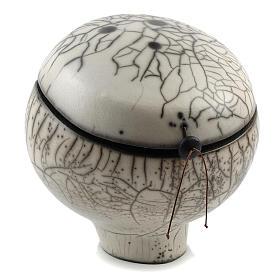 Urne funéraire Naked Raku Ball 1/5 s2