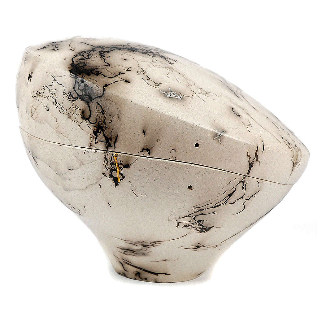 Cremation urn, horsehair Circle 4/10 3
