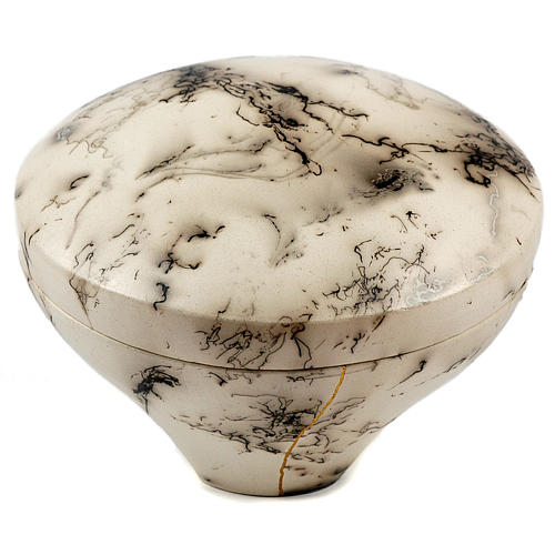 Cremation urn, horsehair Circle 4/10 1
