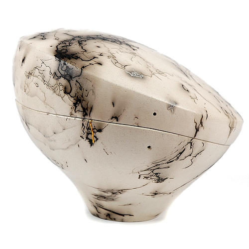 Cremation urn, horsehair Circle 4/10 2