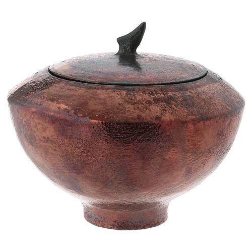 Raku urn, Circle 5/10 1