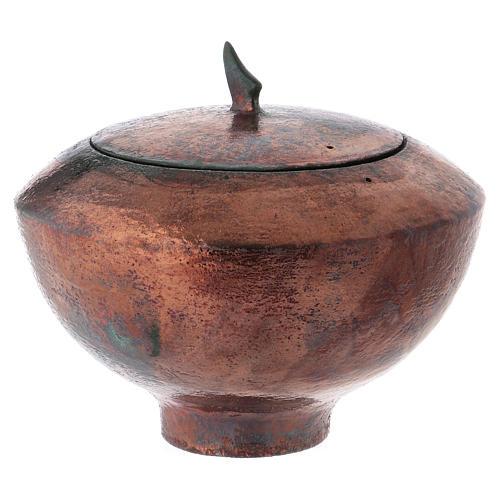 Raku urn, Circle 5/10 2