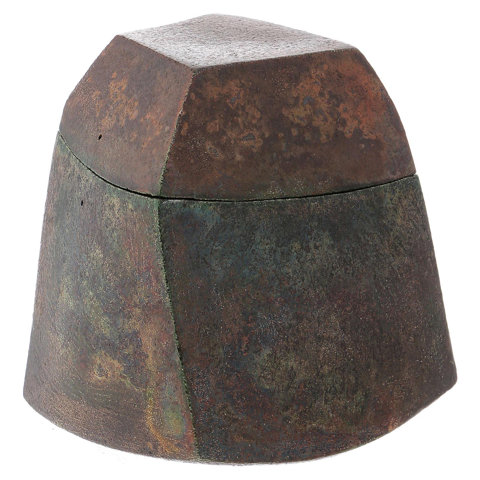 Urna Raku Square 4/10 3