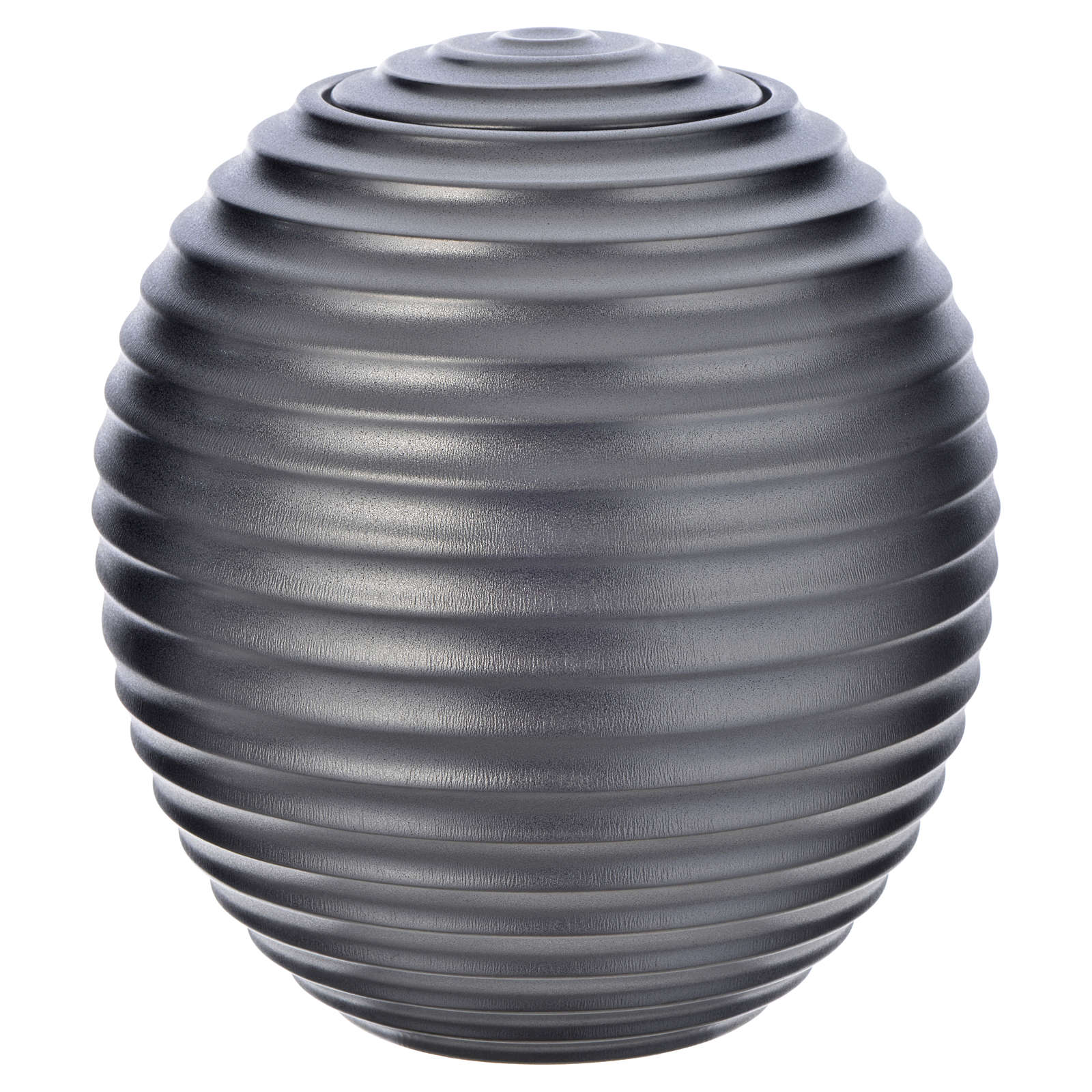 Urna cineraria porcelana esmaltada mod. Plata Tecno 3