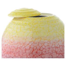 Urna cineraria porcellana smaltata mod. Murano Colour s2