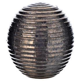 Urna cineraria porcelana esmaltada mod. Bronce Tecno s1