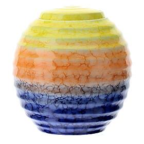 Urnetta funeraria porcellana mod. Murano Colours s1