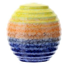 Urnetta funeraria porcellana mod. Murano Colours s3