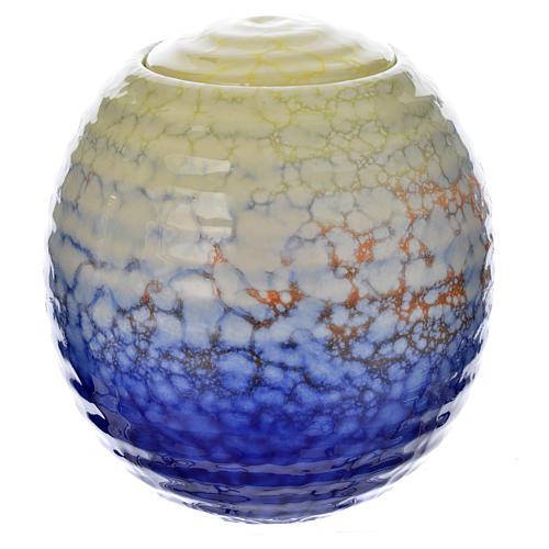 Urnetta funeraria porcellana mod. Murano Colours 1