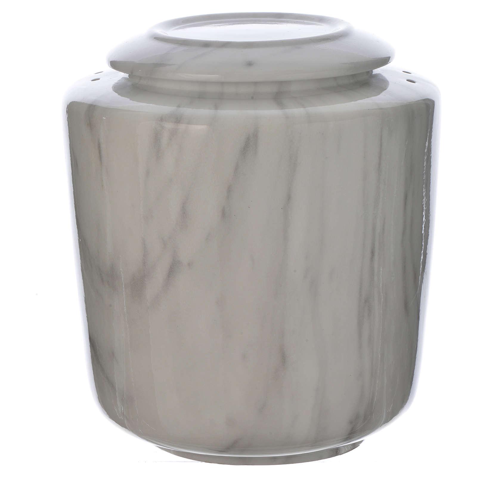 Urna fúnebre porcelana mod. Carrara 3