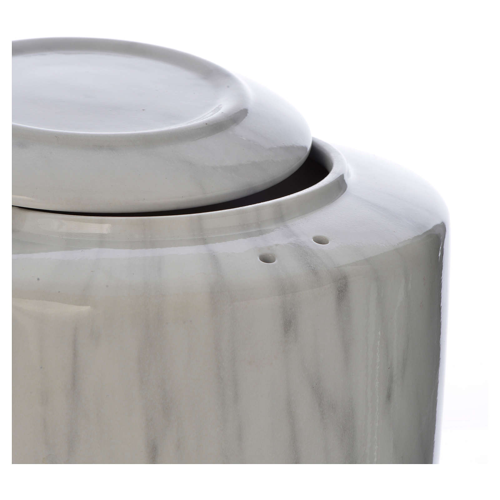 Urna funeraria porcellana mod. Carrara 3