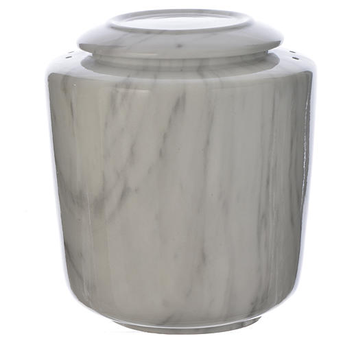Urna funeraria porcellana mod. Carrara 1