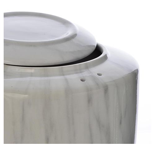 Urna funeraria porcellana mod. Carrara 2