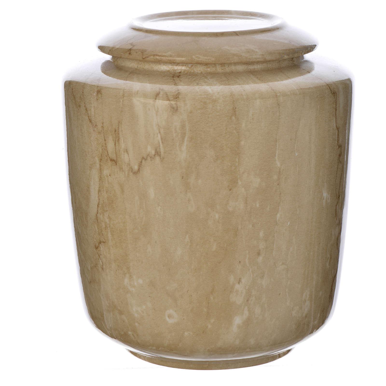 Urna funeraria porcellana mod. Botticino 3