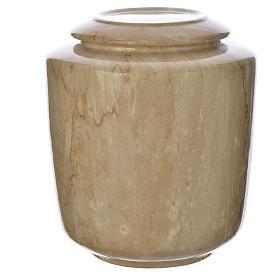 Urna funeraria porcellana mod. Botticino s1