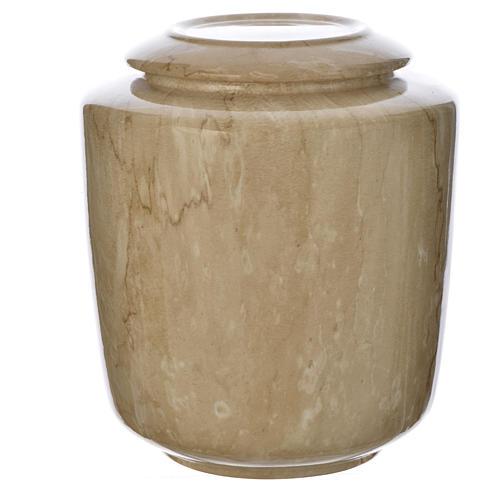 Urna funeraria porcellana mod. Botticino 1