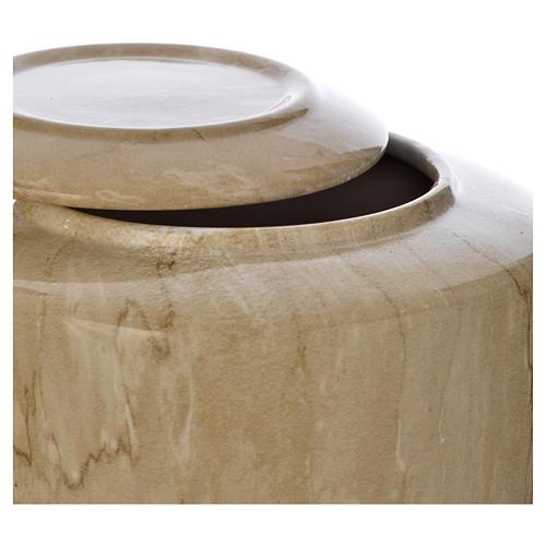 Urna funeraria porcellana mod. Botticino 2