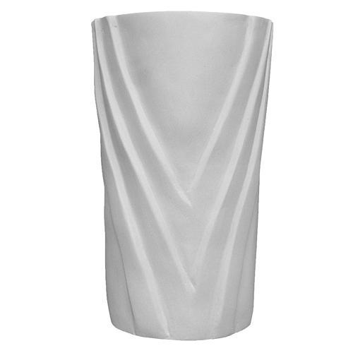 Flower vase in reconstituted marble 1