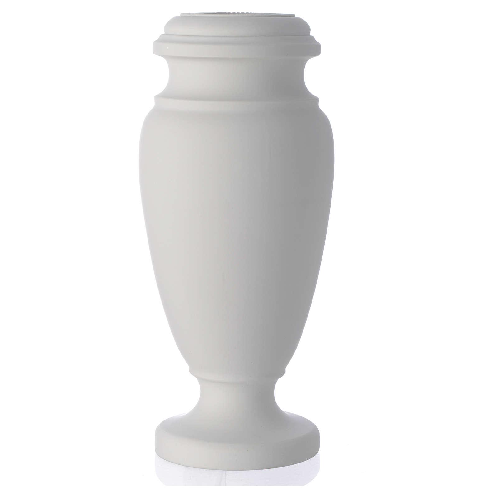 Vaso portafiori per cimitero marmo sintetico 3