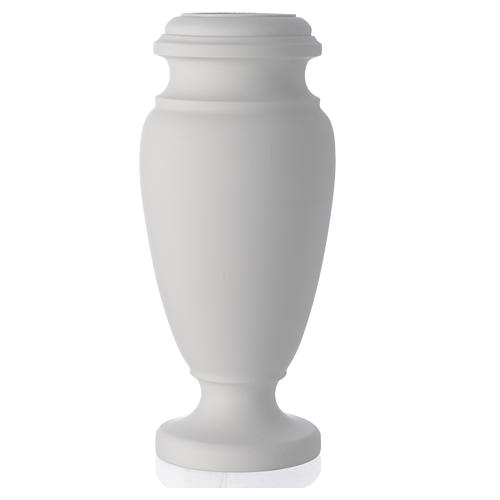 Flower Vase For Cemetery In Reconstituted Marble Online Sales On