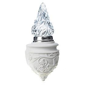 Aplikacja lampka nagrobna marmur syntetyczny s3