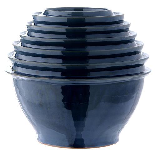 Urna funeraria Onde blu 1