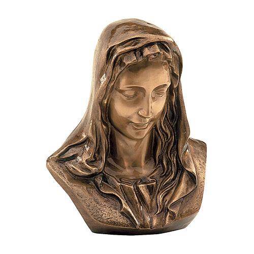 Plaque Notre-Dame des Douleurs bronze 30x30 cm pour EXTÉRIEUR