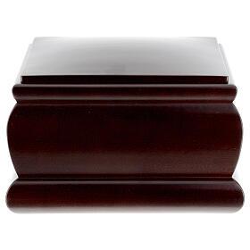 Urna funeraria Cofre caoba barnizada s4