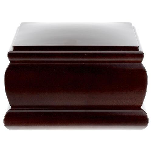 Urna funeraria Cofre caoba barnizada 4