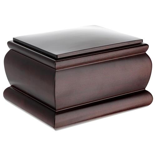 Urna funeraria Scrigno mogano verniciato 3