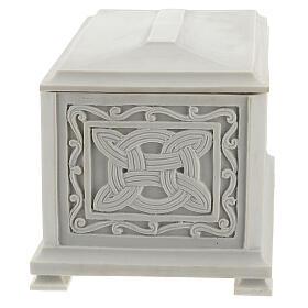 Urna cineraria Renaissance rectangular polvo mármol pulida s3