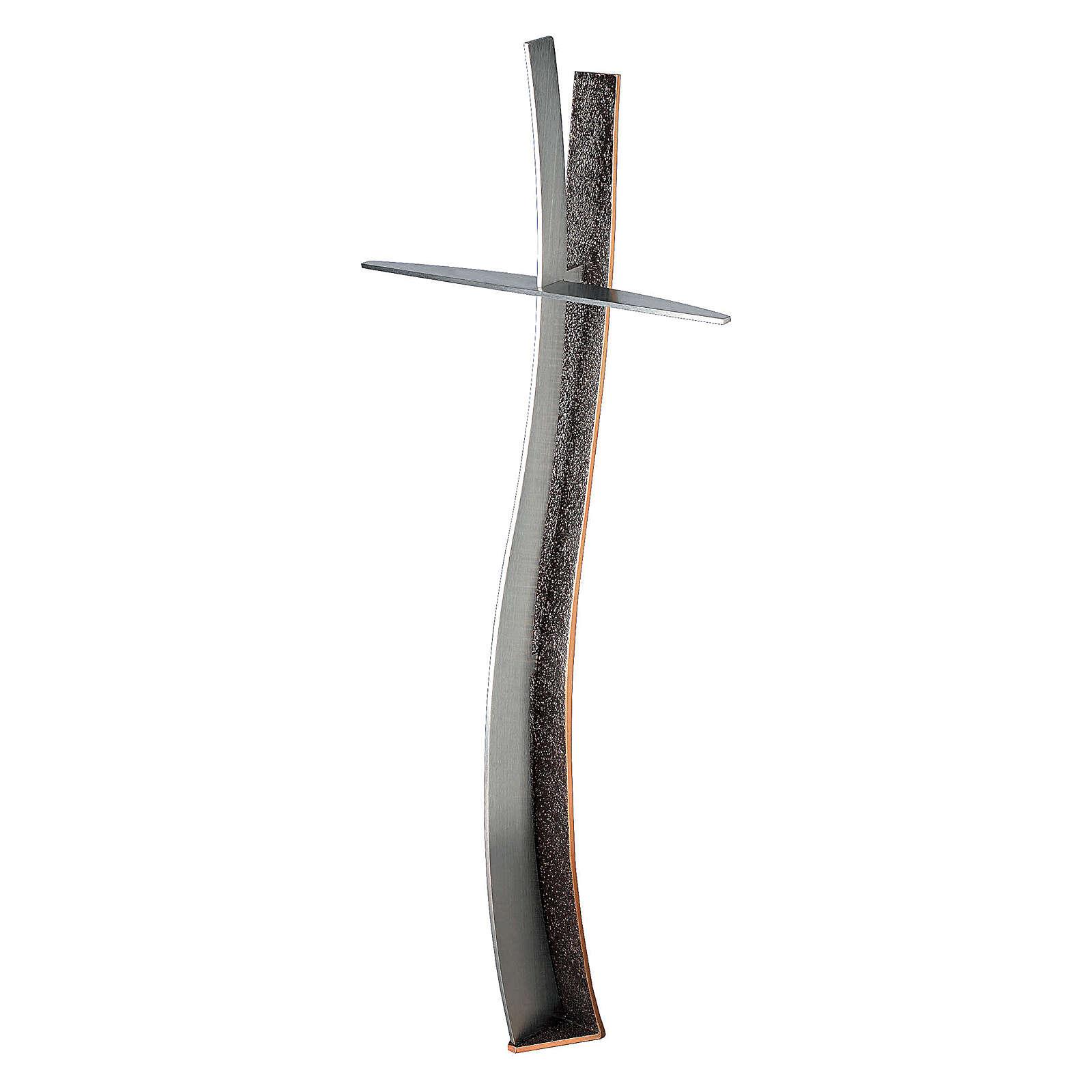 Cruz de bronce para cementario h. 90 cm para EXTERIOR 3