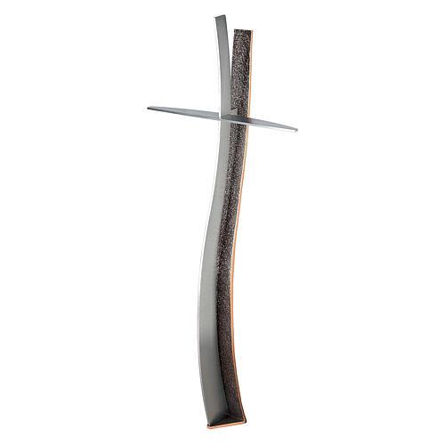 Croce terrena in bronzo h. 60 cm per ESTERNO 1
