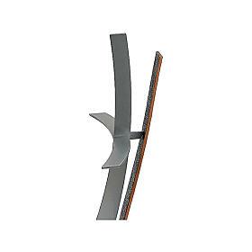 Cruz de bronce terrena cementario h. 60 cm para EXTERIOR s2