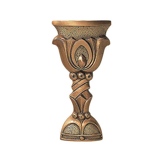 Targa commemorativa forma calice 17 cm per ESTERNO 3