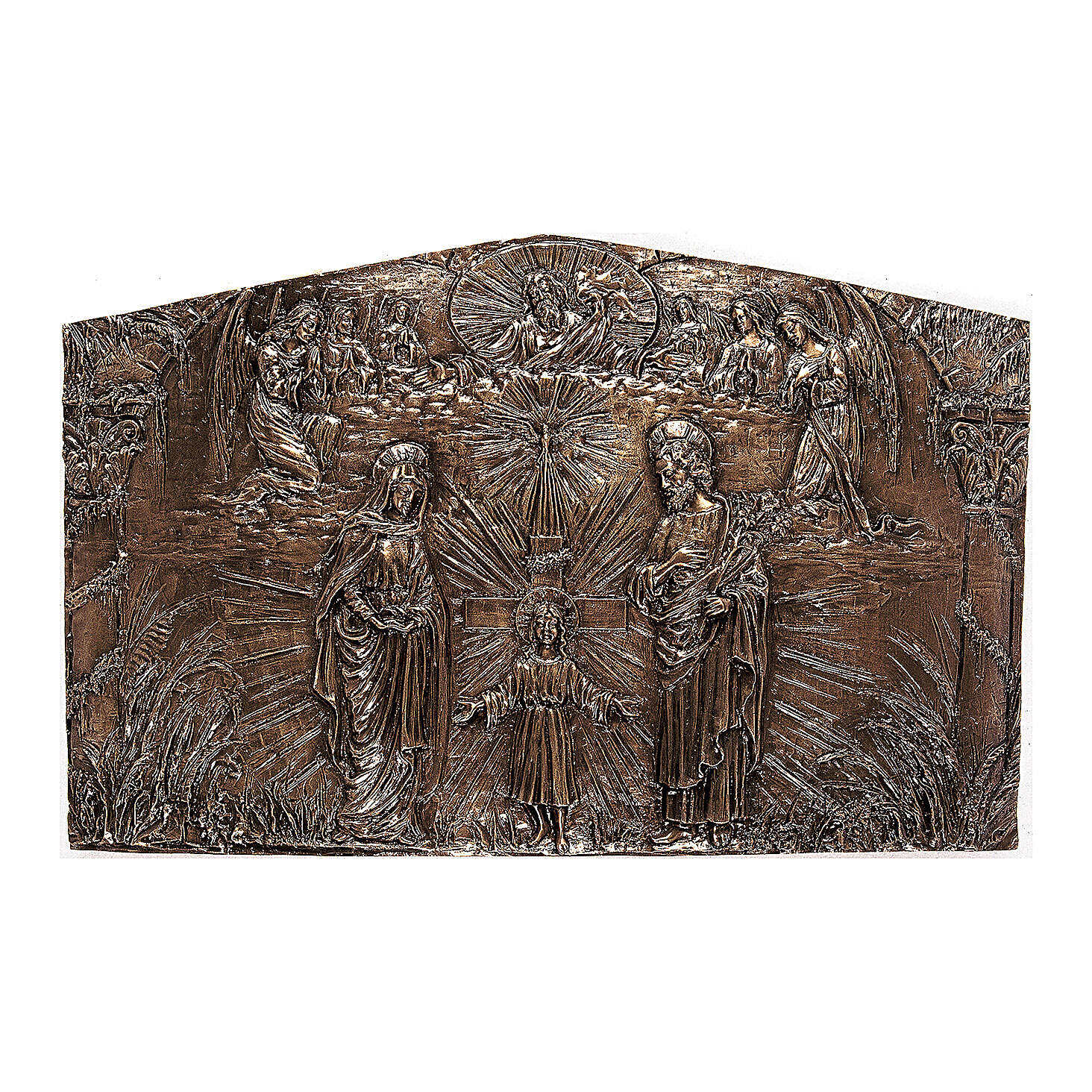Holy Family cemetery plaque, 80 cm for OUTDOORS 3