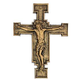 Targa bronzo crocefisso 57 cm per ESTERNO s1
