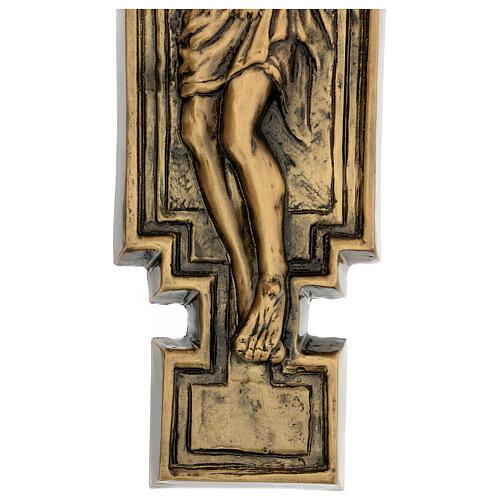 Targa bronzo crocefisso 57 cm per ESTERNO 6