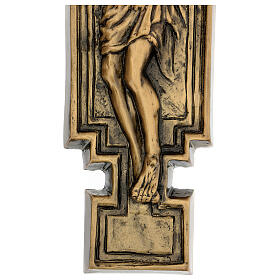 Bronze Crucifix plaque, 57 cm for OUTDOORS s6