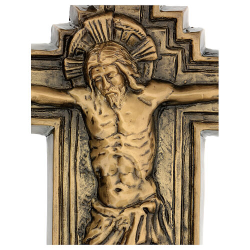 Bronze Crucifix plaque, 57 cm for OUTDOORS 2