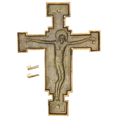 Bronze Crucifix plaque, 57 cm for OUTDOORS 7
