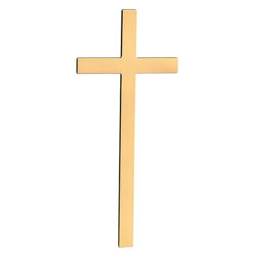 Cruz para lápida bronce antiguo 25 cm para EXTERIOR 2