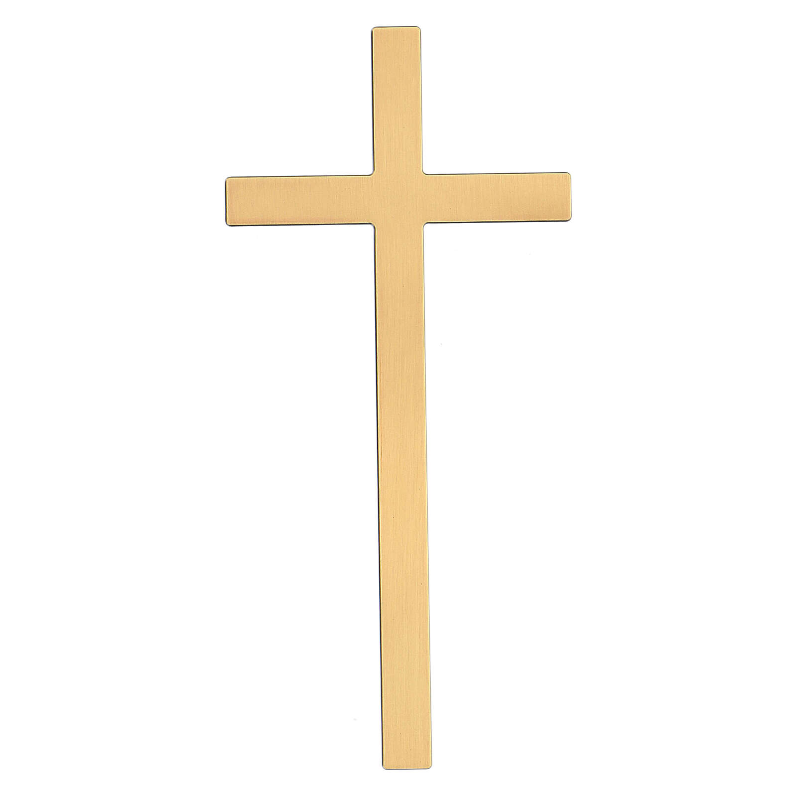 Bronze cross with aged effect for headstone 20 inc OUTDOOR USE 3