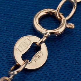 Angelo di Raffaello collana oro 750/00 - gr. 1,50 s2