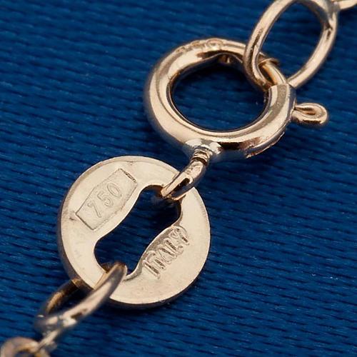 Angelo di Raffaello collana oro 750/00 - gr. 1,50 2