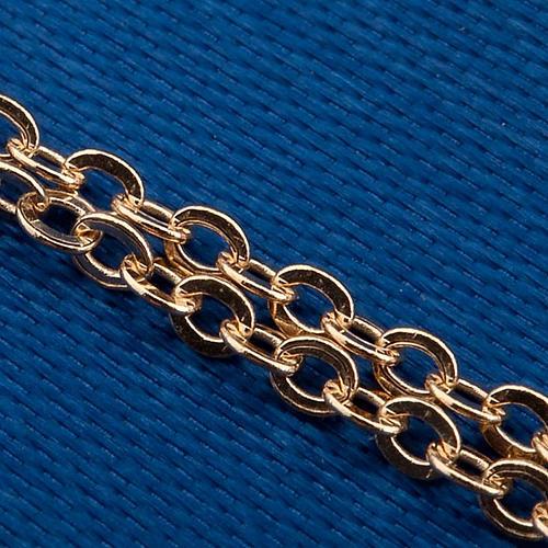 Madonna Miracolosa collana oro 750/00 - gr. 1,30 4